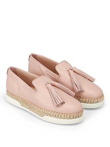 Femme Skate De Cuir Chaussures Tod's Rose Xxw96a0y451jusm011 SxwqdYYz