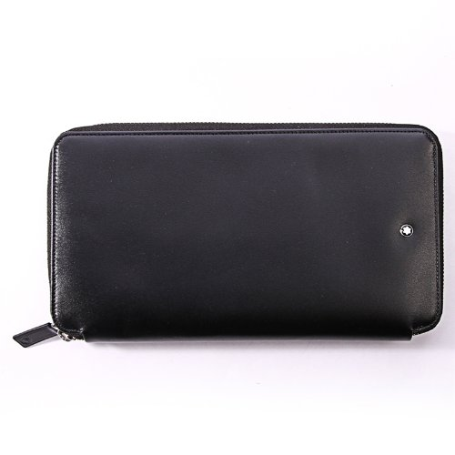 Mont Blanc Black Travel Currency Wallet (16352) by MONTBLANC (Image #7)