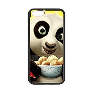 Panda iPhone 6 4.7 Inch Cell Phone Case Black Wrmwo