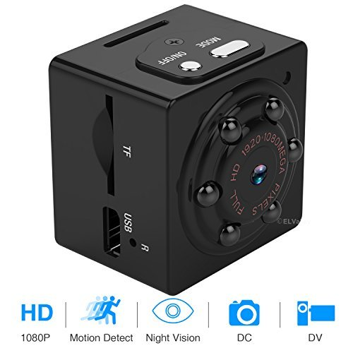 Mini Hidden Spy Camera 1080P Portable Spy Camcorder with Night Vision, Motion De