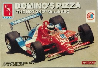 6751-amt-dominos-pizza-the-hot-one-march-88c-1-25-scale-plastic-model-kitneeds-assembly