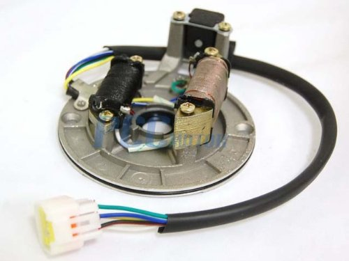 2LSFRB 125CC 110cc Coolster ATV CHINESE DIRT PIT BIKE IGNITION STATOR MAGNETO PLATE IS10