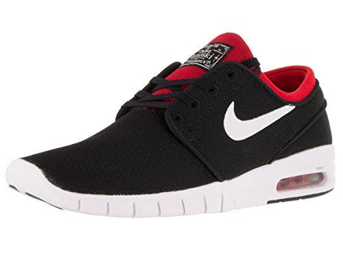 Nike Stefan Janoski Max Mens Sneakers Black/White/University Red