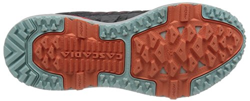 Cascadia 11 Crystalblu 005 Hibiscus Running Women's 005 Anthracite 120204 Trail Shoes 1b Brooks Grey gqACS
