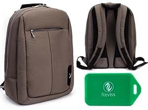 Samsung Series 7 Premium Laptop Backpack in Taupe ( Greyish/Brown)