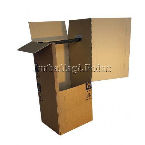 1 unidad - Cajas armario para mudanza, para transportar la ...