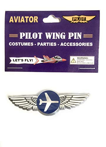 Aviator Kids Airplane Pilot Wing Plastic Pin Party Favor