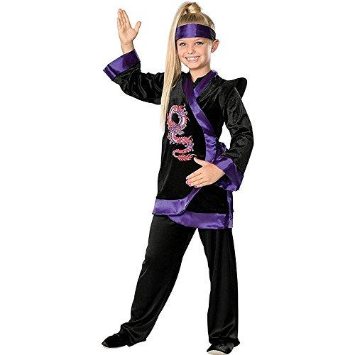 [Rubie's Costume Co Dragon Ninja Costume, Medium] (Dragon Girl Costume)