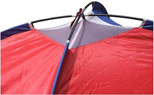 QWJUN Tienda Pop-up para Exteriores Tienda para Acampada de 3-4 Personas Tienda de campaña Protección contra Rayos UV de 2000 mm Resistente a la Intemperie Ligero