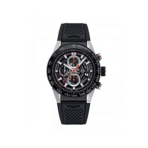 Tag Heuer Carrera Calibre Heuer 01 Automatic Skeleton Dial Mens Watch CAR2A1Z.FT6044 (Tag Heuer Carrera Monaco Grand Prix Price)