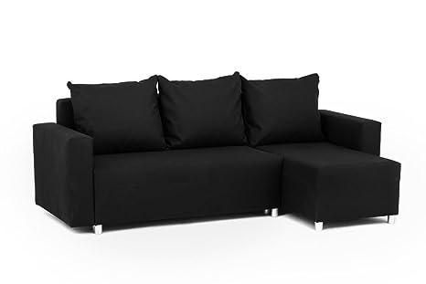 Sofá cama / rinconera Oslo con compartimento para el ...