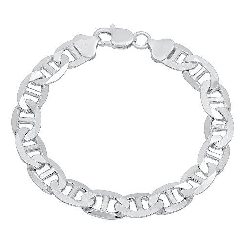 Bar 925 Sterling Silver Bracelet - 8