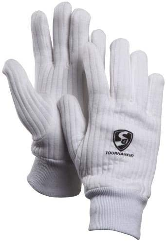 Cotton Inner Gloves Included Mens Size SS Catcher Premium Cricket Wicket Keeping Gloves