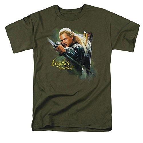 The Hobbit Legolas Greenleaf Mens Short Sleeve Shirt