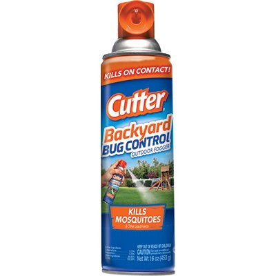 Cutter HG-95704 16 oz Bug Free Backyard Outdoor Fogger - Quantity 10