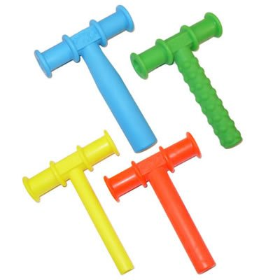 CHEWY TUBE MASTER COMBO PACK - 3 KNOBBY TEXTURE - 3 (BLUE) LARGE - 3 (RED) MEDIUM - 3 (YELLOW) SMALL