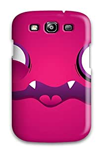 Cute Tpu Caronnie Violet Vampire Case Cover For Galaxy S3 by icecream design