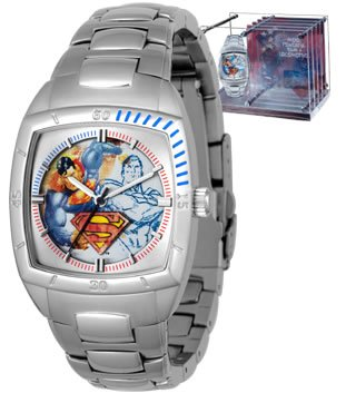 Amazon ultra rare superman street watch fossil returns dc wb ultra rare superman street watch fossil returns dc wb warner freerunsca Choice Image
