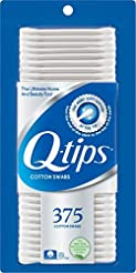 Q-tips Cotton Swabs, Original, 375 ct