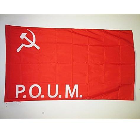 AZ FLAG Bandera del Partido OBRERO DE UNIFICACIÓN MARXISTA ...