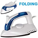 UNIBOS FOLDABLE FOLDING COMPACT STEAM TRAVEL IRON MAINS DUAL VOLTAGE EASY GLIDE 700W QUICK POSTAGE====LIMITED OFFER