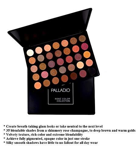 Palladio ROSE COLOR COLLECTION - 35 Color Eyeshadow Palette by Palladio