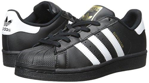 Mixte blanc Multicouleur Basses Noir Adidas Superstar Foundation Enfant ZwqxtzT