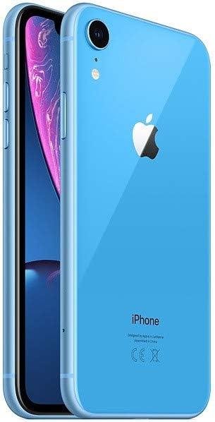 Apple iPhone XR, 64GB, Blue - Fully Unlocked (Renewed)