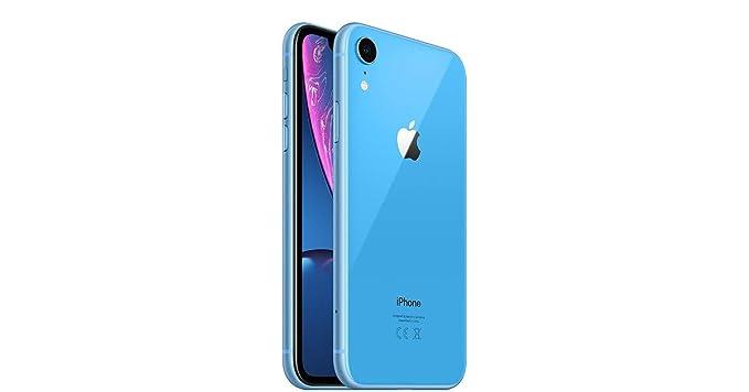 Amazon com: Apple iPhone XR, Fully Unlocked, 64 GB - Blue