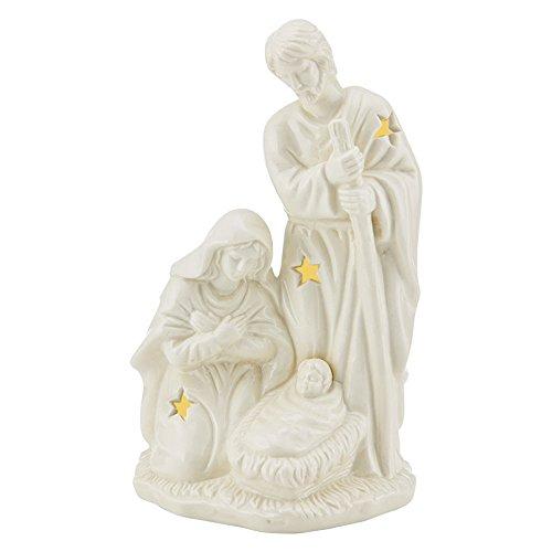 (Mikasa Holiday Splendor Holy Family Nativity with LED Light)