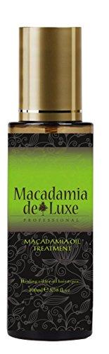 Macadamia DeLuxe Macadamiaöl Haaröl, 100ml, Premium Haar und Körper Pflege
