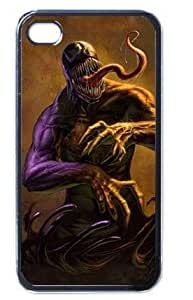 Ebaykey Custombox NEW Black Spider Venom rare gift Best Durable Silicone Case Cover for iphone 5 5s