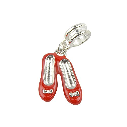 Universal Ruby Red Slippers Red Shoes Charm