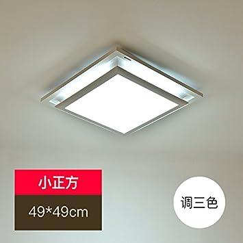 JUZHIJIA Rechteckige LED Deckenleuchte Wohnzimmer Schlafzimmer ...