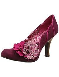 Ruby Shoo Women's April Faux Suede Fabric Court Shoe Pumps