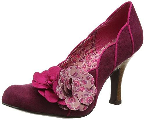 Ruby Shoo April, WoMen Closed-Toe Pumps Purple (Plum)