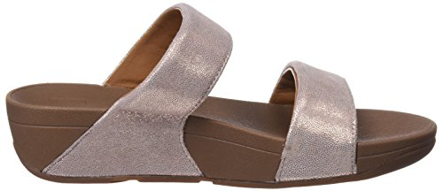 Fitflop Sandals Rosa Slide Oro Shimmy Suede Platform Donna Iwq1qYrx