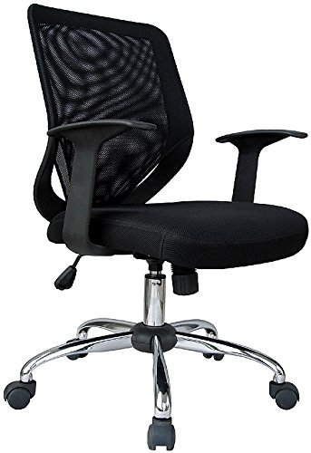 Fabulous Essentials Mesh Office Chair Black Creativecarmelina Interior Chair Design Creativecarmelinacom