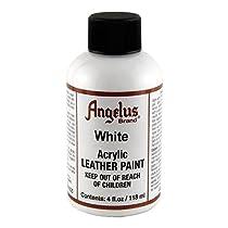 Angelus Leather Paint 4 Oz White