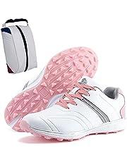 Golfschoenen Voor Dames,women's Golf Sportschoenen Waterdichte Female Golf Schoenen Grote Maat 35-42EU Outdoor Training Sneakers+golfschoenentas