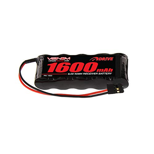 Venom Group International 1503 6V 1600mAh NiMH Flat RX Battery