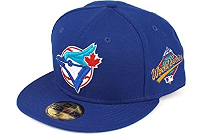MLB Toronto Blue Jays 1993 World Series Sidepatch Fitted Hat 7 1/2