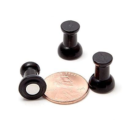 amazon com map magnets 24 classic tuxedo black magnetic push