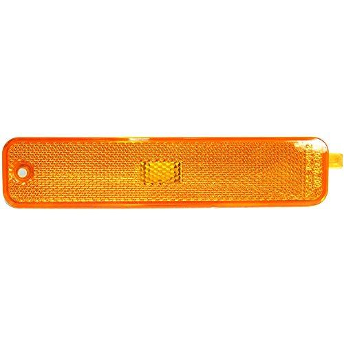 Side Marker Light Lamp Amber Lens Front Left Side compatible with Pontiac Sunfire ()