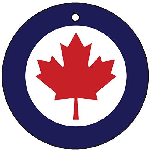 Royal Canadian Air Force Canada Roundel Car Air Freshener (Xmas Christmas Stocking Filler/Secret Santa Gift) AAF