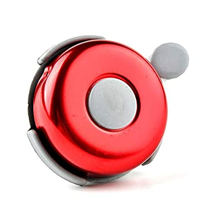 Red Bicycle Bike Cycle Cycling HandleBar Bell Ring New