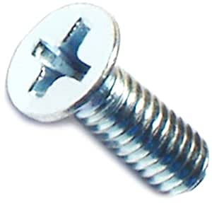 Hard-to-Find Fastener 014973288129 Phillips Flat Machine Screws, 8-32 x 1/2-Inch, 60-Piece