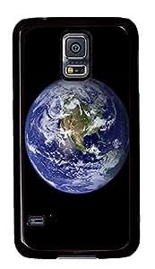 Samsung Galaxy S5 Earth -2 PC Custom Samsung Galaxy S5 Case Cover Black