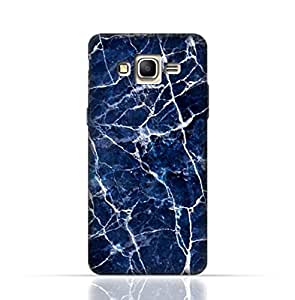 Samsung Galaxy Core Prime TPU Silicone Case with Blue Marble Texture