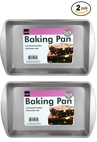 Biscuit Brownie Pan Two Piece Set 11 Inch x 7 Inch
